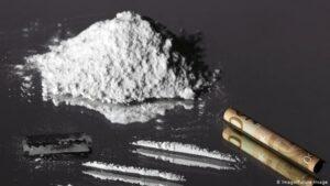 La cocaína, un estimulante altamente adictivo